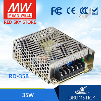 patriotic MEAN WELL RD-35B meanwell RD-35 35W Dual Output Switching Power Supply genuine mean well rid 125 1224 meanwell rid 125 133 2w dual output switching power supply