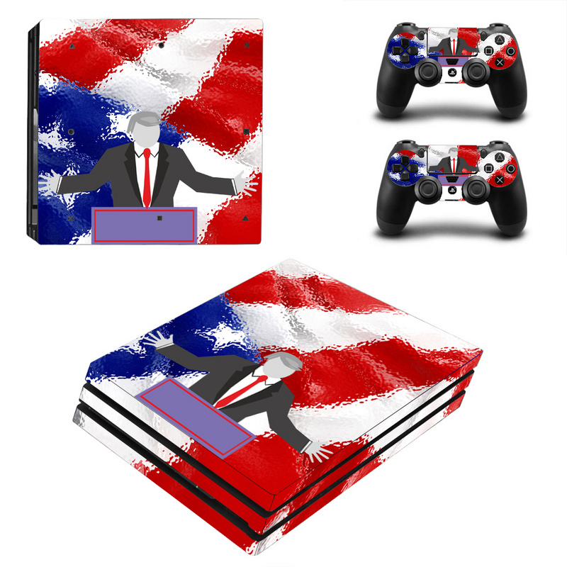 Vinyl Skin Sticker for Sony PS4 Pro Console and 2 Controllers Decal Cover Game Accessories For PS4 Pro Skin Sticker Vinyl
