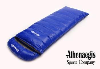 Athenaegis new arrival white duck down 2200g/2500g/2800g/3000g filling spliced envelope adult breathable sleeping bag