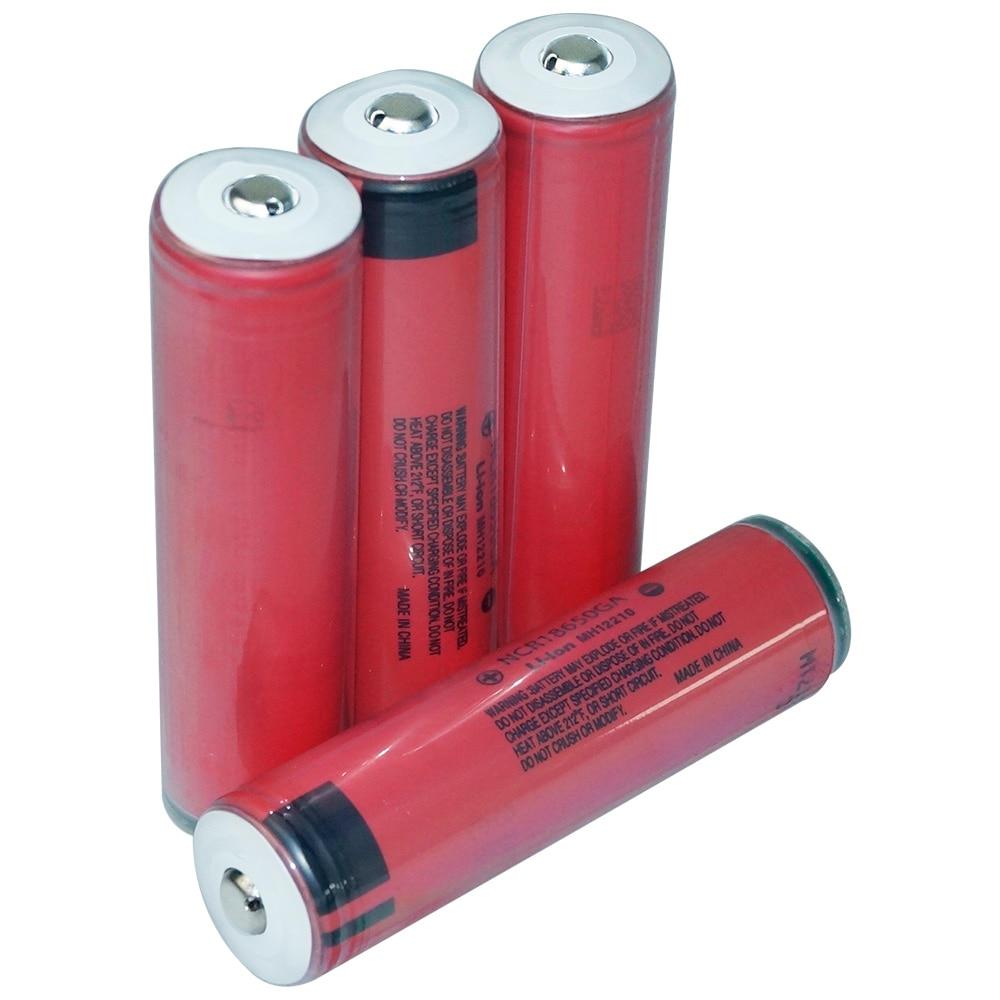 Hixon Sanyo Cell 3500mAh 10A NCR18650GA 18650 Li-ion Battery Protected by PCB стоимость