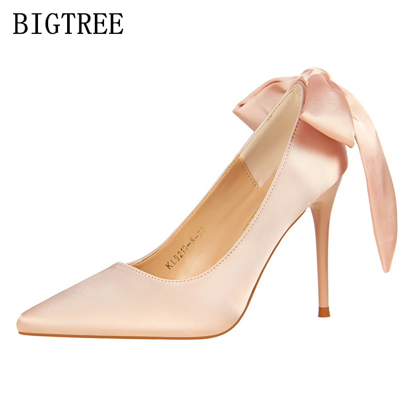 bigtree shoes woman extreme high heels zapatos mujer tacon stiletto red  pink women shoes high heel pumps salto alto bridal shoes de5fff552268