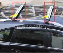 Aluminum alloy Roof Bars Rack Baggage Rail Cross Bar Set for Hyundai Santafe 2010-2013