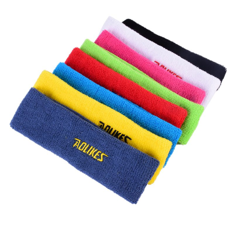 Mens Women Head Band Hair Band Sweat Sweatband Womens Elastic Stretch Sports Yoga Gym Stretch Headband ...