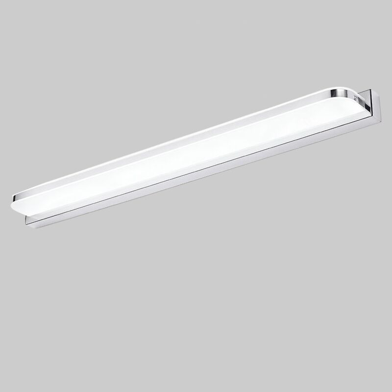 US $13.77 29% OFF|Längere LED Spiegel Licht 25 CM ~ 112 CM AC90 260V  Moderne Kosmetische Acryl Wand lampe Badezimmer Beleuchtung Wasserdicht  Freies ...