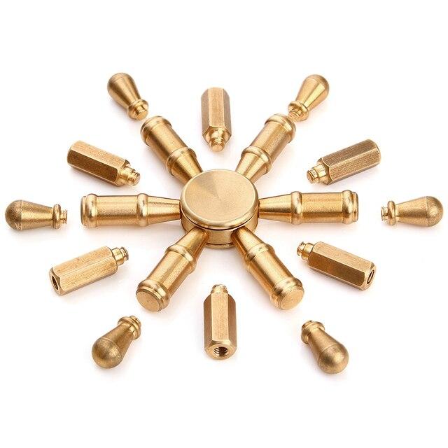 Съемная 3 в 1 Спиннеры ручной Spinner палец Spinner spiner металла снять стресс вращающийся EDC игрушка tl-16