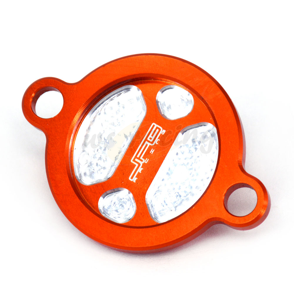 CNC Motorcycle Billet Oil Filter Cap Cover For KTM SXF250 XCF250 EXCF250 XCFW250 SXF350 EXCF350 XCF350 XCFW350 XCW400 Dirt Bike