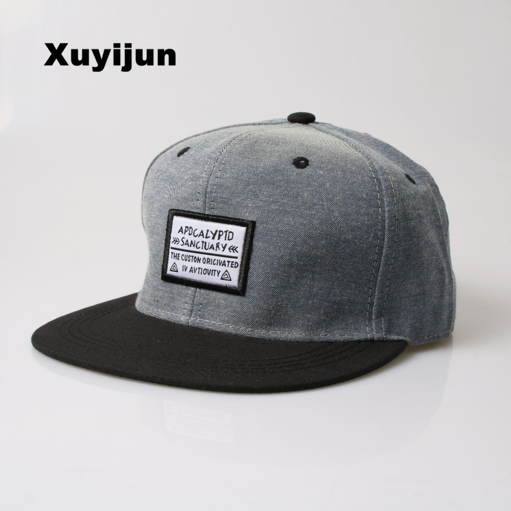 Xuyijun Baseball Cap Men Women Snapback Cap Hat Female Male Hip Hop Bone Cap Cool Brand Fashion Street Adjustable dad hats new fashion floral adjustable women cowboy denim baseball cap jean summer hat female adult girls hip hop caps snapback bone hats