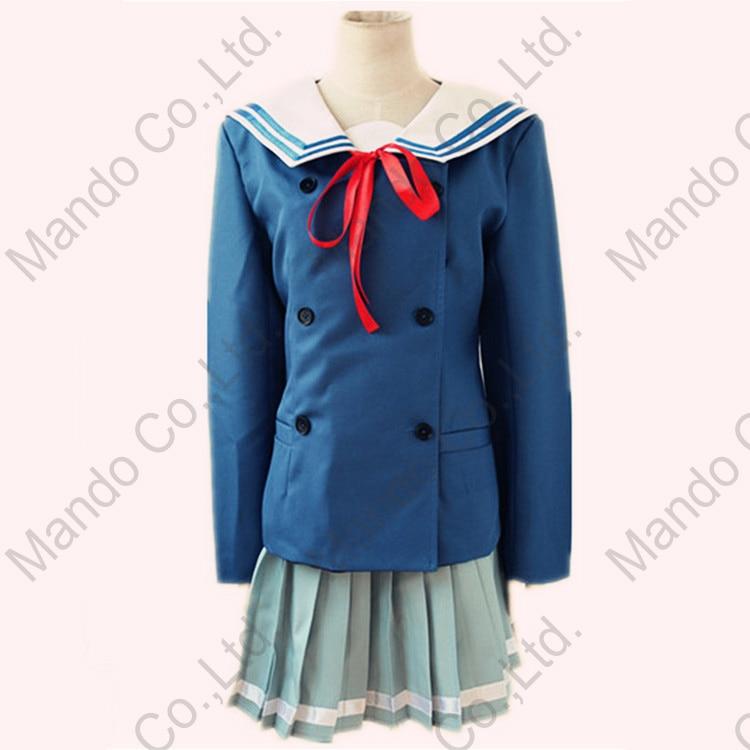 Anime Kyokai no kanata Kuriyama Mirai Shindou Ai Məktəb qızı - Karnaval kostyumlar - Fotoqrafiya 3