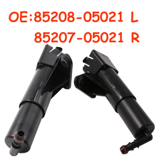 OEM 85208-05021 or 85207-05021 For Toyota Avensis T25 2006 2007 2008 New Car Headlight Washer Nozzle 8520805021 8520705021 yaopei left headlight cleaning washer nozzle jack fits for lexus is430 85207 50021