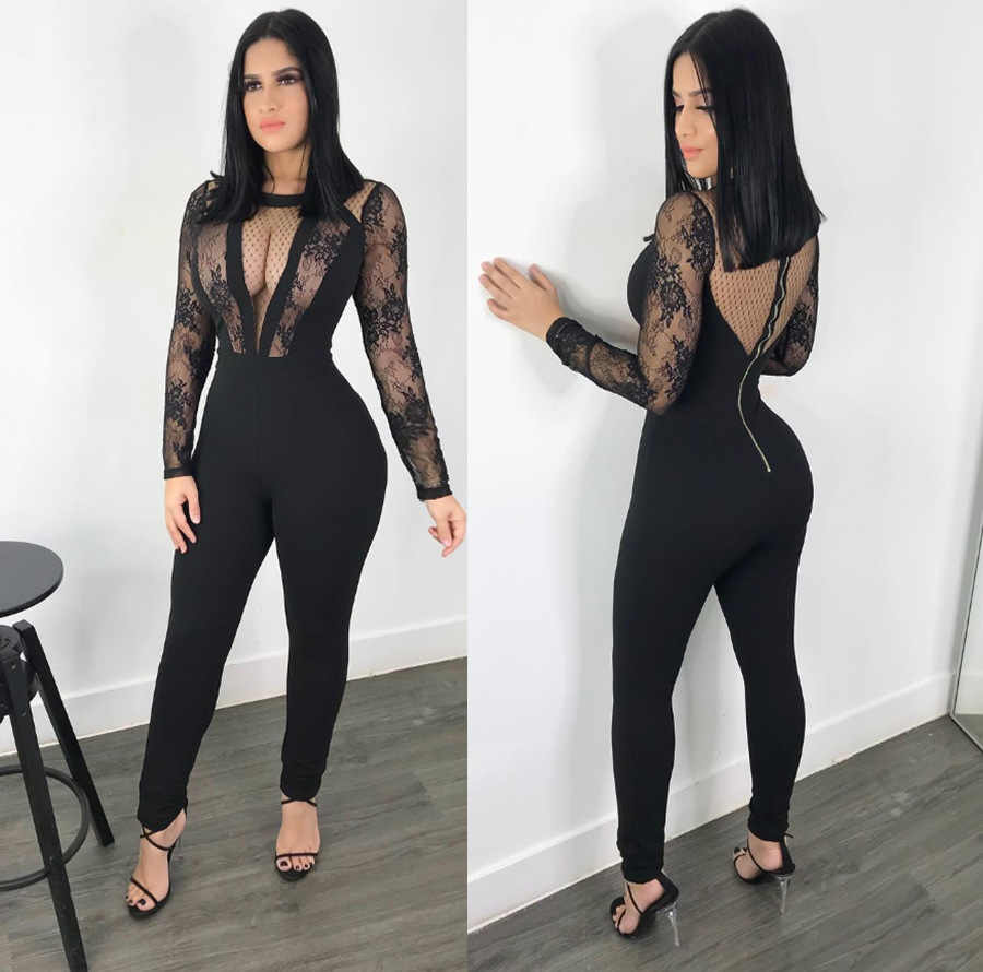 9376ca88bb Detail Feedback Questions about Women Lace Sheer Mesh Bodycon Sexy ...