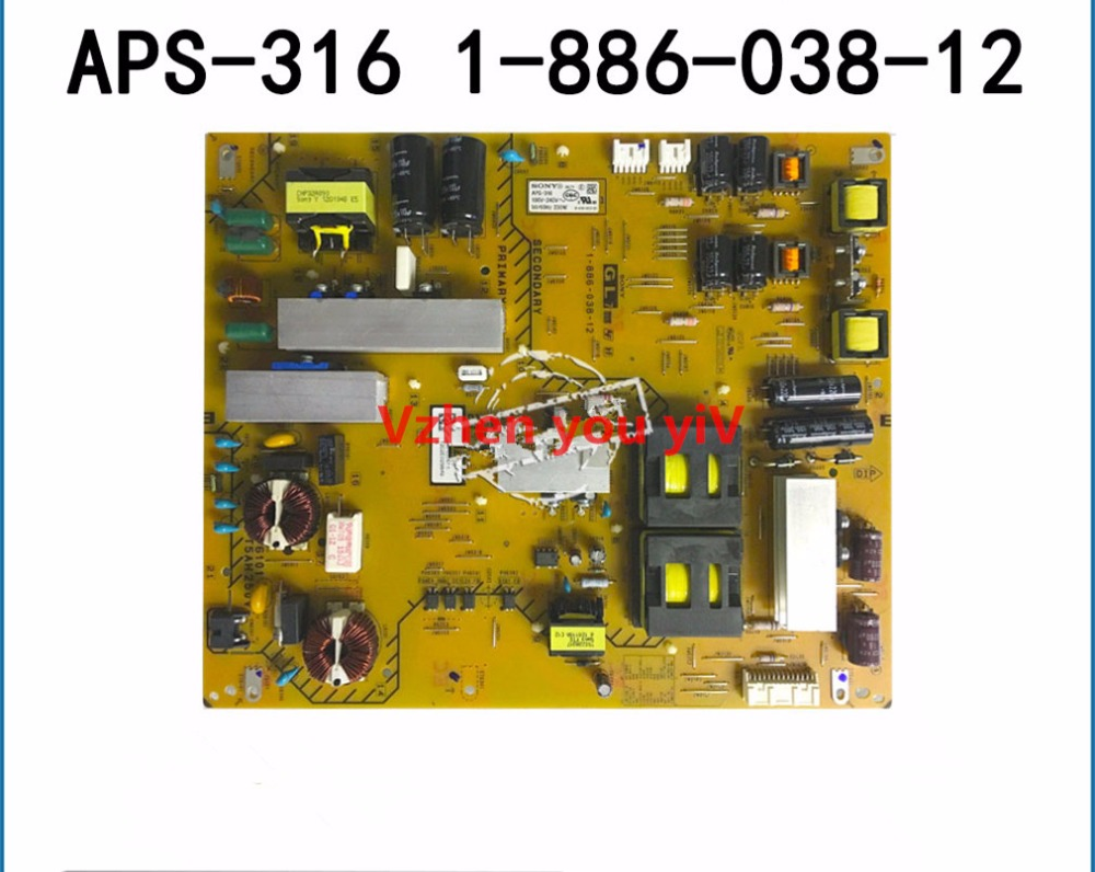 New FOR SONY KDL-55HX750 power panel APS-316 (CH) 1-886-038-12 driver board/motherboard aps 362 1 893 621 11 power panel for kdl 55w950b is used