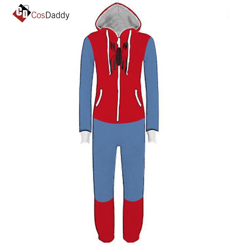 Spider-men Cosplay Costume deadpool Outfit Clothes x-men   Anime Sleep Outfit Clothes   CosDaddy