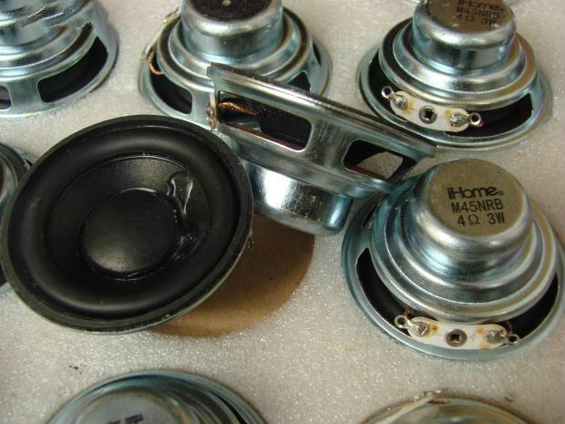 2 шт./упак. 1.75 дюймов 4 Ом 3 Вт <font><b>bluetooth</b></font>-динамики Неодимовый полный спектр louderspeaker пены край шерсть pots 45 мм аудио
