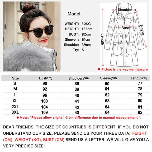 winter jacket women 2018 Winter Female Long Jacket Winter Coat Women Fake Fur Collar Warm Woman Parka Outerwear Down Jacket Coat 1