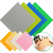 High-Quality Double-sided 32*32 Dots Baseplates For Small Bricks DIY Building Blocks Base Plate Blocks