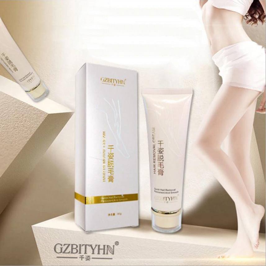 GUJHUI 80g Depilatory Cream Beauty Female Shaving Hair Removal Body Leg Armpit For Women&Men Drop Ship 2018