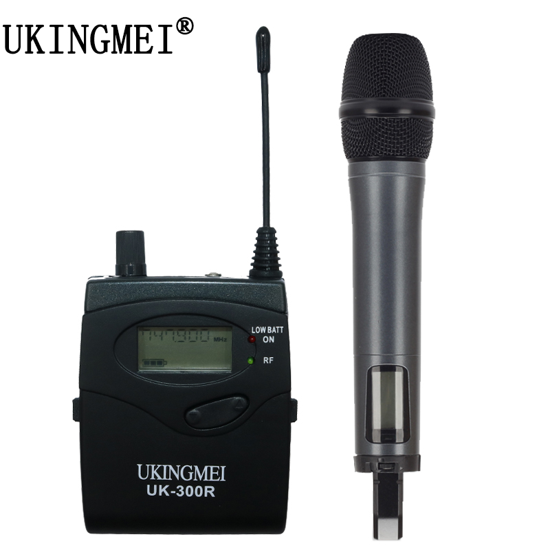 Wireless Handheld Microphone For  DSLR Camera Outdoor Recording, Interview, Video Shooting, DV Portable Wireless Microphone