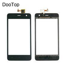 Explay Vega Capactive LCD Touch screen Digitizer front glass replacement TouchScreen Black color Russian