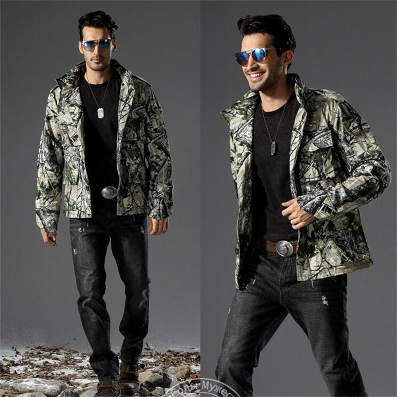 Hiking Outdoor Sport Jackets Army Military Camouflage Windbreaker Camping Climbing Jacket Men Camping Camouflage Cotton Coat winter outdoor tactical military training windbreaker hooded coat outwear men s hiking climbing cotton warm waterproof jacket