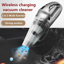multi function portable car vacuum cleaner wet pressure pneumatic lighting tire dry super suction air compressor inflatable pump Multi-function Portable Wireless Car Vacuum Cleaner  Tool Wet and Aspirador Pressure Pneumatic Lighting 12V Filter Car Cleaner