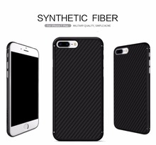 For Apple iPhone 7 Case 4.7″ Nillkin Synthetic Fiber Cell Phone Case for iPhone 7 Plus 5.5 inch Carbon Fiber Plastic Back Cover