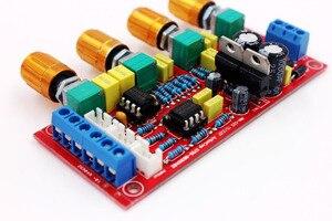 Image 5 - NE5532 OP AMP HIFI Amplificatore Preamplificatore Scheda di Controllo di Tono del Volume EQ kit FAI DA TE o prodotto finito guscio Trasparente