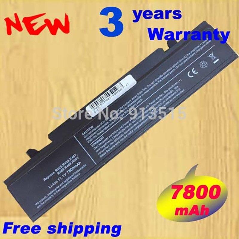 9cell Battery for Samsung R525 R468 R428 R528 R470 R480 R510 R503 R507 R540 R462 X360 X460 R780 AA-PB9NC6B PB9NC6W NP-R540E 9 cells 7800mah laptop battery for samsung r420 r418 r469 r507 r718 r720 r728 r730 r780 r518 r428 r425 r525