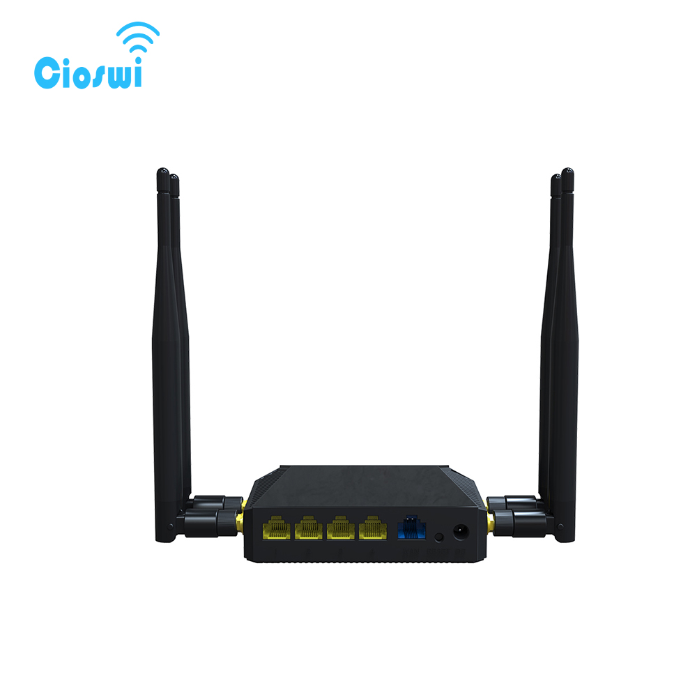 Wifi Router 3G/4G SIM Card Slot OpenWrt 300Mbps High Power Wireless Router Repeater with 4*5dBi Antenna