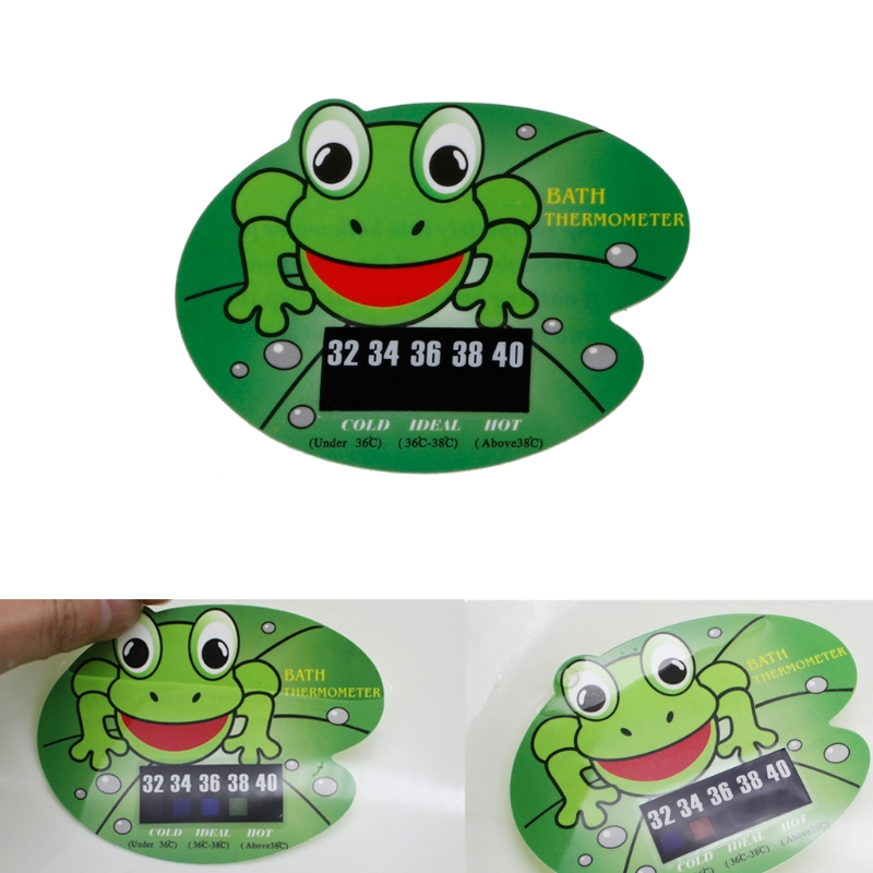 Infant Baby Temperature Water Thermometer Frog Baby Bath Tub ...