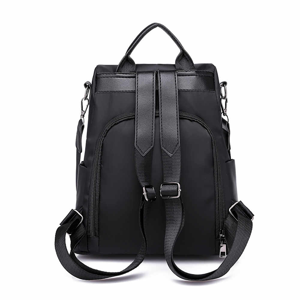 5 # venda quente bolsa de viagem feminina anti-roubo oxford pano mochila grande capacidade mochilas casuais unisex mochilas pretas
