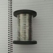 0,1 мм 0,2 мм 0,3 мм 0,4 мм 0,5 мм 100 метров 304 нержавеющая сталь один провод Яркий твердый ювелирный аксессуар