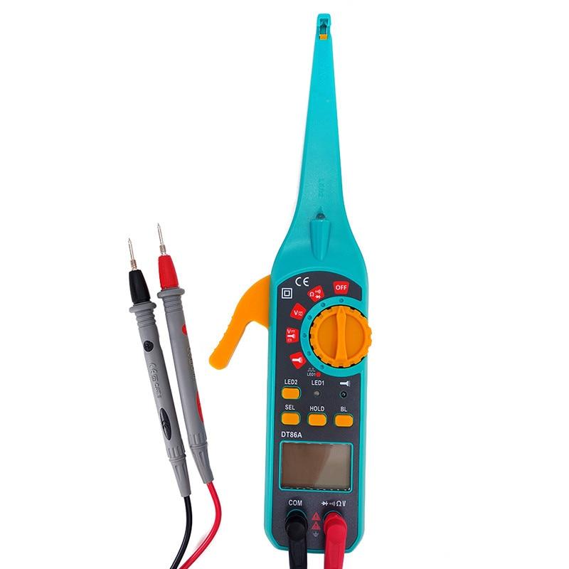 купить Auto Circuit Tester Multimeter Car Repair Automotive Electrical Multimeter Diagnostic Tool Probe Test Electrical Diagnostics по цене 1791.73 рублей