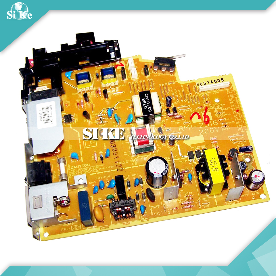 LaserJet Printer Engine Control Power Board For HP 1018 1020 PLUS RM1-2316 RM1-2315 HP1018 HP1020 Voltage Power Supply Board repalce paper roller kit for hp laserjet laserjet p1005 6 7 8 m1212 3 4 6 p1102 m1132 6 rl1 1442 rl1 1442 000 rc2 1048 rm1 4006