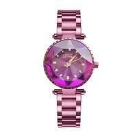 2018 Элитный бренд дамы кристалл смотреть женское платье часы Мода розовое золото кварцевые часы женский Нержавеющаясталь Наручные часы