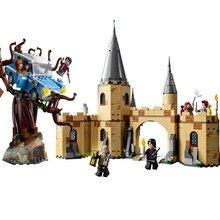 Гарри фильм Поттер legoing The Hogwarts Whomping Willow набор модель строительные блоки наборы детские игрушки рождественские подарки на Рождество