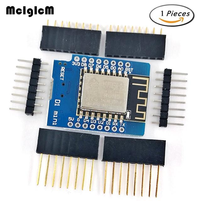MCIGICM 1 sets ESP8266 ESP-12 ESP12 WeMos D1 Mini Module Wemos D1 Mini WiFi Development Board Micro USB 3.3V Based On ESP-8266