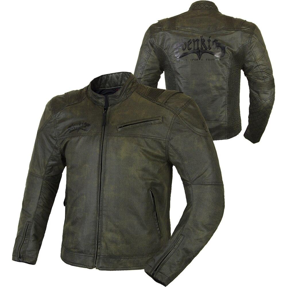 BENKIA 2017 Fashion Motorcycle Racing font b Jacket b font Vintga Spring Summer Vintga Motorcycle Armor