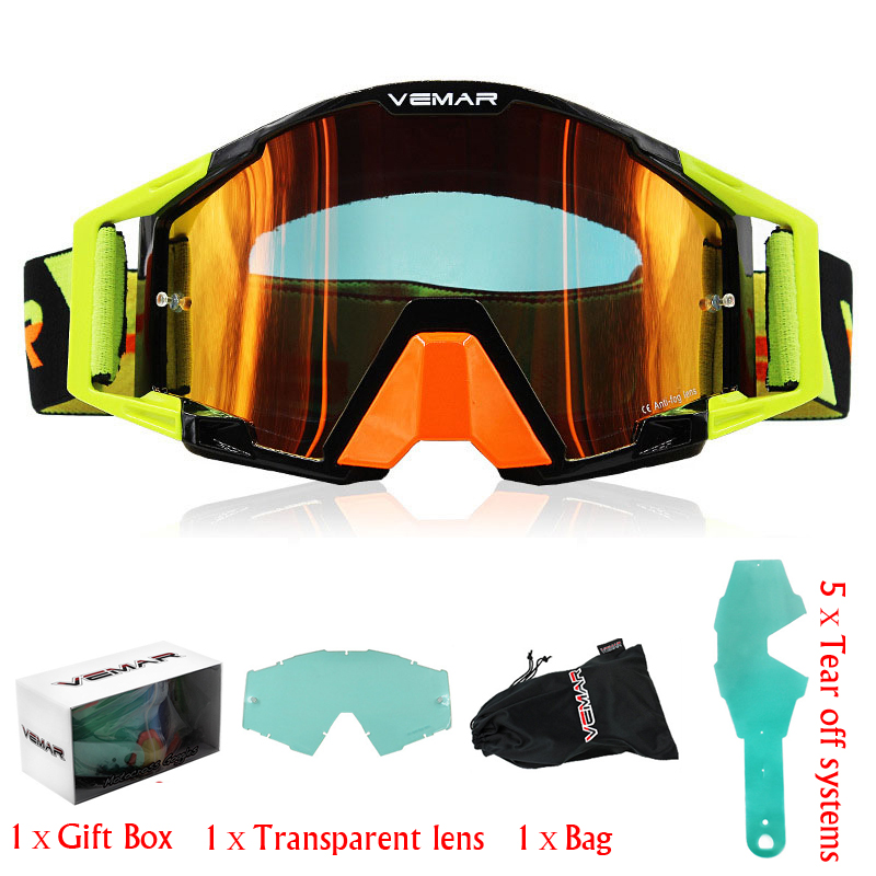 Gafas Motorcycle Goggles Glasses 100% MX Off Road Glasses Motorbike Outdoor Sport Oculos Ski Cycling Goggles Motocross Goggles(China)