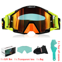 Gafas Motorcycle Goggles Glasses 100% MX Off Road Glasses Motorbike Outdoor Sport Oculos Ski Cycling Goggles Motocross Goggles
