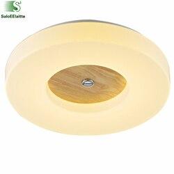 Możliwość przyciemniania nowoczesny Led metalowe lampy sufitowe akrylowe minimalizm oświetlenie sufitowe pilot zdalnego sterowania jadalnia światła sufit w Oświetlenie sufitowe od Lampy i oświetlenie na