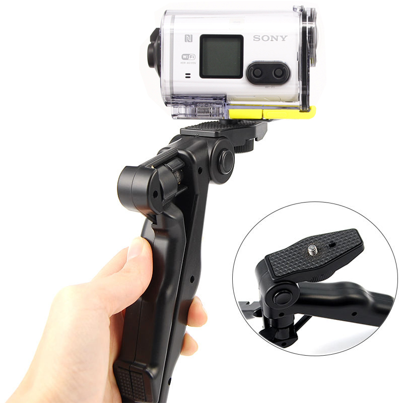 Handheld Grip Mini Tripod And Stablizer Steadycam For Sony Action Cam HDR-AS100V AS300R AS50 AS200V X3000R AEE Sport Camera