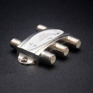 Image 2 - Commutateur Original de DiSEqC de TV de Zinc commutateur de DiSEqC 4x1 antenne Satellite commutateur plat de LNB pour le récepteur de télévision