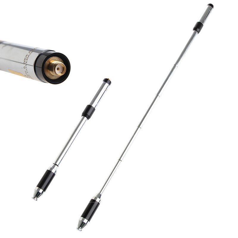 RH770 SMA-F VHF/UHF 144/430 mhz Dual Band Antenne Pour Kenwood Puxing Wouxun Nouveau