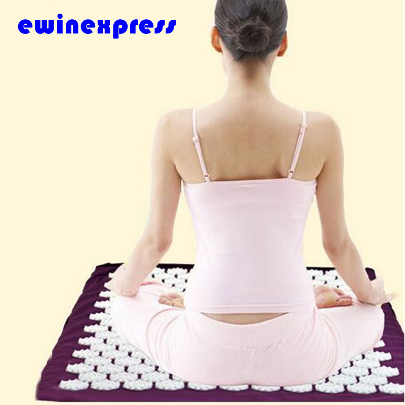 1 X Massager Cushion Acupressure Mat Relieve Stress Pain Acupuncture Yoga Mat For Pain And Stress Relief Body Health Care Tool mohd mazid and taqi ahmed khan interaction between auxin and vigna radiata l under cadmium stress