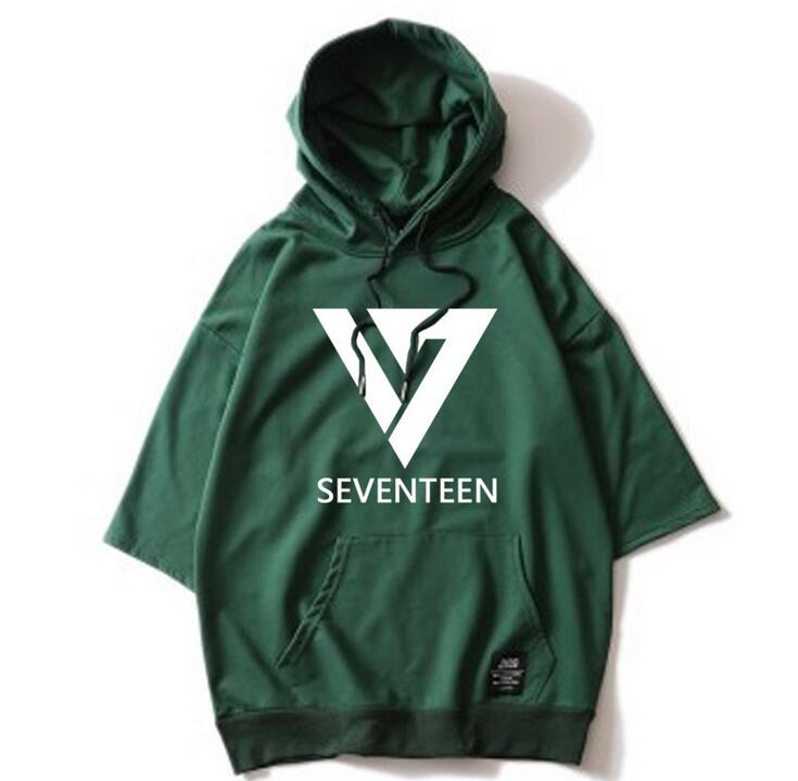 SEVENTEEN Hooded T-Shirts