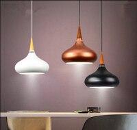 2016 новые светильники подвесные светильники дизайн дерева и алюминия лампа для ресторана, бара кофе столовая светодиодная Подвесная лампа с