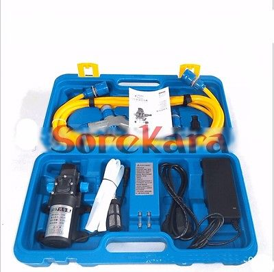 A Set DC 12V 80W Electric Car Washer Cleaner Tool Set for home use
