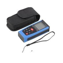 On sale Quality 100m(328ft) Digital Laser Measure Telemetre Rangefinder Telemetro Laser Distance Meter Measure Range Finder Area Volume