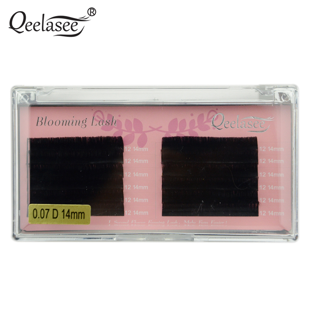 dd552b62c43 One Tray 0.05/0.07 Blooming Lash Automatic Fanning Lash faux mink Volume eyelash  extensions Easy