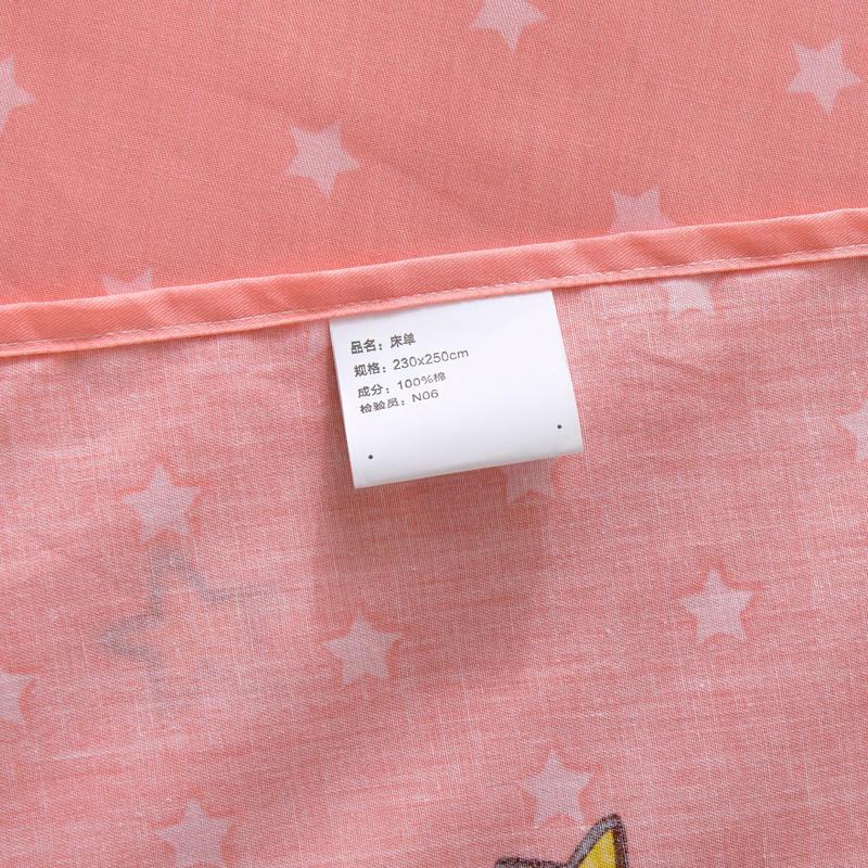 Sweet Candy Cat Bedding Sets 100% Cotton Girl/Teens Bedroom Decor 3d Duvet Cover Full/Queen Size Bedlinen Duck Pillowshams 4/5PC - 6